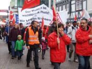Streikdemo Norgren